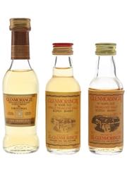 Glenmorangie 10 Year Old Bottled 1980s & 2000s 3 x 5cl / 40%