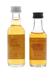 Aberlour 10 Year Old Bottled 1990s & 2000s 2 x 5cl / 40%