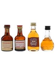 Drambuie, Glayva & Irish Mist Bottled 1960s & 1980s 4 x 5cl