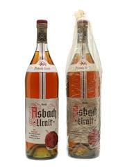 Asbach Uralt German Brandy  2 x 100cl