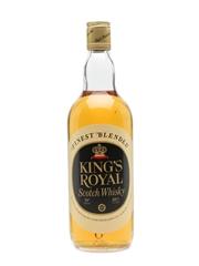King's Royal Scotch Whisky Bottled 1970s 75cl