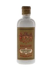Bardinet Curacao Blanc Bottled 1950s 5cl