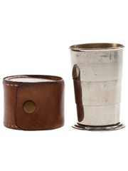 Telescopic Cup With Leather Case