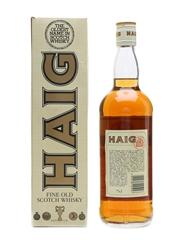 Haig Fine Old Scotch Whisky Bottled 1980s 75cl