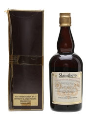Slaintheva 12 Year Old Bottled 1970s 75.7cl