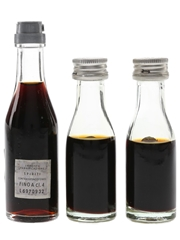 Fernet Branca Bottled 1970s 3 x 2cl-2.5cl / 45%