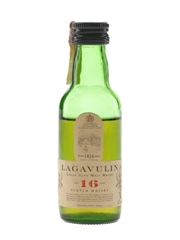 Lagavulin 16 Year Old Bottled 1980s-1990s - White Horse Distillers 5cl / 43%