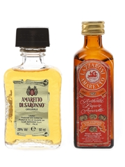 Illva & Lazzaroni Amaretto  2 x 5cl