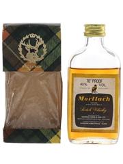 Mortlach 70 Proof Bottled 1970s-1980s - Gordon & MacPhail 5cl / 40%