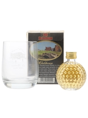 Old St Andrews Clubhouse Golf Ball Miniature With Tumbler  5cl / 40%