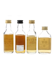 Brodie, Glen Stag, Macleod Of Macleod & OV Bottled 1980s 4 x 4.8cl-5cl