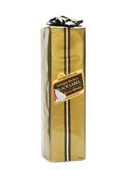 Johnnie Walker Black Label Gift Wrapped Bottled 1980s 75cl