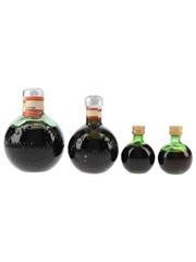 Zwack Unicum Herbal Liqueur Bottled 1960s-1970s 4 x 3cl-15cl