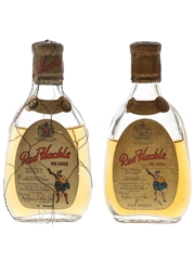 Red Hackle De Luxe Bottled 1950s-1960s 2 x 5cl / 40%