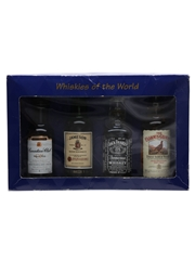 Whiskies Of The World Canadian Club, Jameson, Jack Daniel's & Famous Grouse 4 x 5cl / 40%