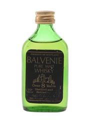 Balvenie 8 Year Old Pure Malt Bottled 1960s-1970s 4.7cl / 40%