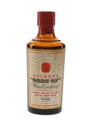 Gilbey's Odds On Bottled 1960s 5cl / 22%