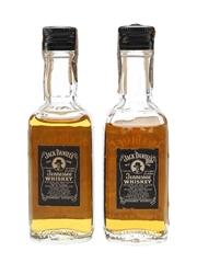 Jack Daniel's Old No.7 Bottled 1970s 2 x 4.7cl / 44.5%