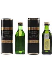 Glenfiddich Special Old Reserve Pure Malt Bottled 1980s-1990s 2 x 5cl