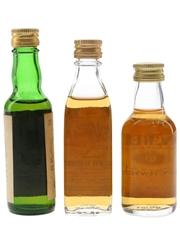 Campbeltown Loch, Ealton's & Teacher's Bottled 1970s & 1980s 3 x 4.8cl-5cl / 40%