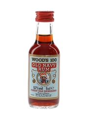 Wood's 100 Finest Old Demerara Old Navy Rum  5cl / 57%