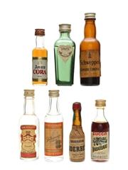 Assorted Spirits & Liqueurs Incl. Smirnoff and Stolichnaya 4 x 5cl, 2 x 3cl & 1 x 2cl