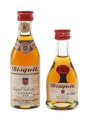 Bisquit 3 Star Cognac Bottled 1970s 3cl & 5cl / 40%