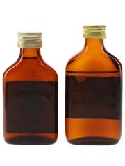 Orange Grove & Wood's Old Charlie Bottled 1960s & 1980s 2 x 5cl / 40%