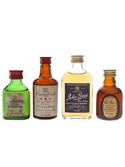 Buchanan's, Crawford's, Grand Old Parr & John Begg Bottled 1970s 4 x 5cl / 40%