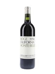 Ridge Monte Bello 1994  75cl / 12.7%
