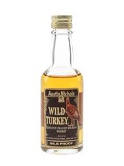 Wild Turkey Bottled 1980s - Austin Nichols 5cl / 43.4%