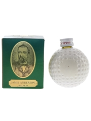 Old St Andrews Golf Ball Miniature Open Champions - Jamie Anderson 5cl / 43%