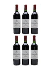 La Sirene De Giscours 2000 Margaux 6 x 75cl / 13%
