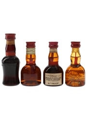 Grand Marnier Cordon Rouge Bottled 1970s & 1980s 2 x 3cl-5cl