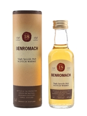 Benromach 18 Year Old  5cl / 40%