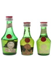 Benedictine DOM Bottled 1960s-1980s 5 x 3cl-5cl