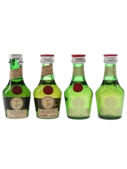 Benedictine DOM Bottled 1960s-1980s 4 x 3cl