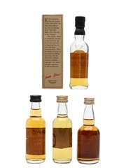 Knockando, Tamdhu, Tamnavulin & Tomintoul Bottled 1980s & 1990s 4 x 5cl / 40%