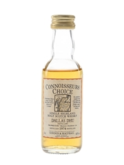 Dallas Dhu 1974 Connoisseurs Choice Bottled 1990s - Gordon & MacPhail 5cl / 40%