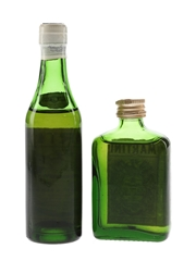 Martini Vermouth Bottled 1970s 2 x 5cl