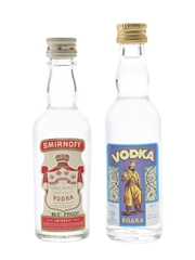 Boaka & Smirnoff Vodka  2 x 5cl