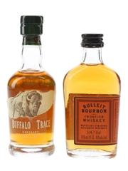 Buffalo Trace & Bulleit Bourbon  2 x 5cl / 45%