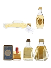 Assorted Blended Whisky  5 x 1cl-5cl
