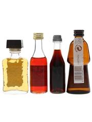 Amaretto Di Saronno, Campari, Fernet Branca & Frangelico  4 x 2.5cl-5cl