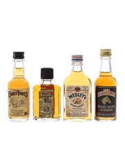 Early Times, Jacob's Well, Medley's & Old Bardstown Bottled 1980s 4 x 4cl-5cl