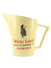 Dewar's White Label Ceramic Water Jug