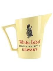 Dewar's White Label Ceramic Water Jug Wade 17.5cm Tall