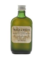 Buchanan's Black & White Bottled 1960s 5cl / 40%