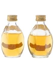 Haig's Dimple Bottled 1970s 2 x 5cl