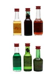 Assorted Bols Liqueur  6 x 3.5cl-5cl